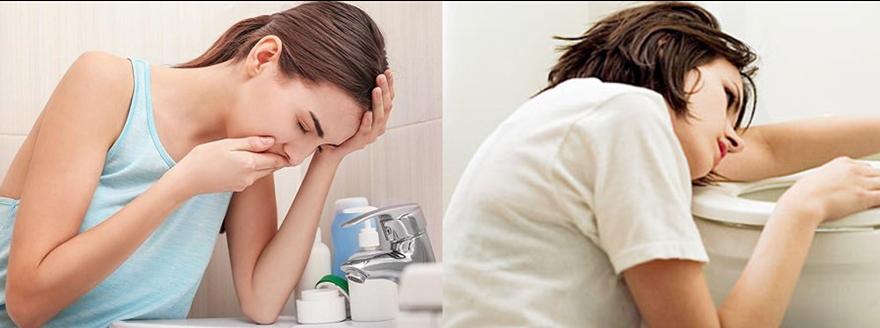 Buồn nôn (ốm nghén) – Dấu hiệu mang thai