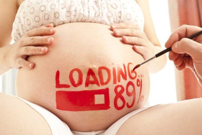 Dấu hiệu sắp sinh trước 2 ngày